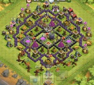Clash of Clans best defense town hall 8