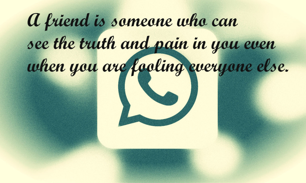 Friendship status for whatsapp