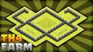 CoC Level 4 - Farming Base Layout