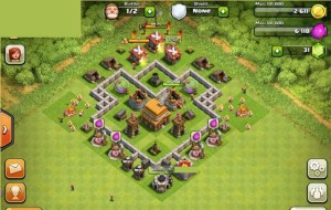 Clash of Clans Layout Level 4