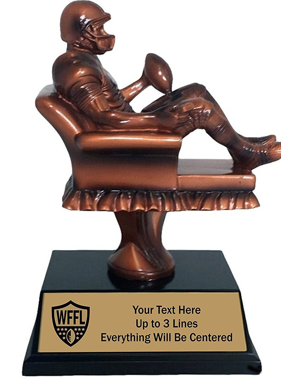 10 amazing fantasy football trophies