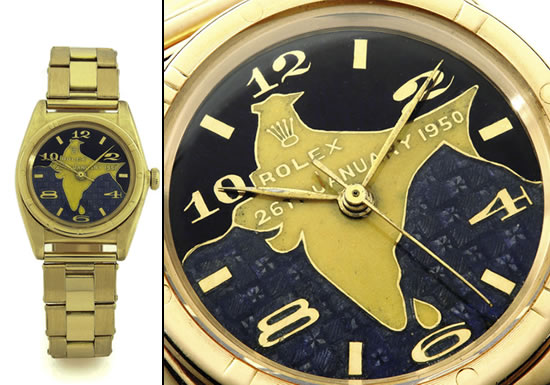 Dr. Rajendra Prasad's Gold Rolex Oyster - expensive rolex watches