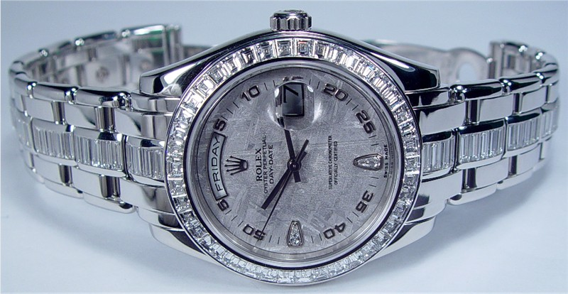 Rolex Platinum Pearlmaster 18956-expensive rolex watches