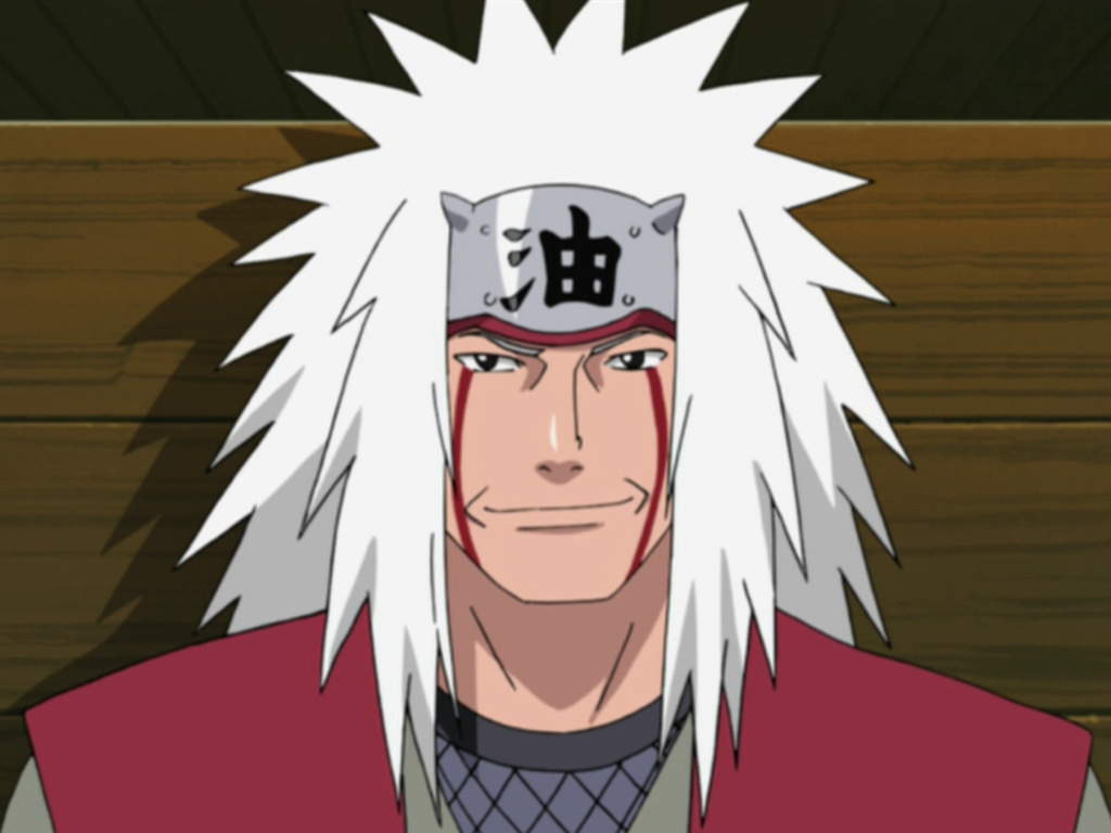 Jiraiya - naruto characters