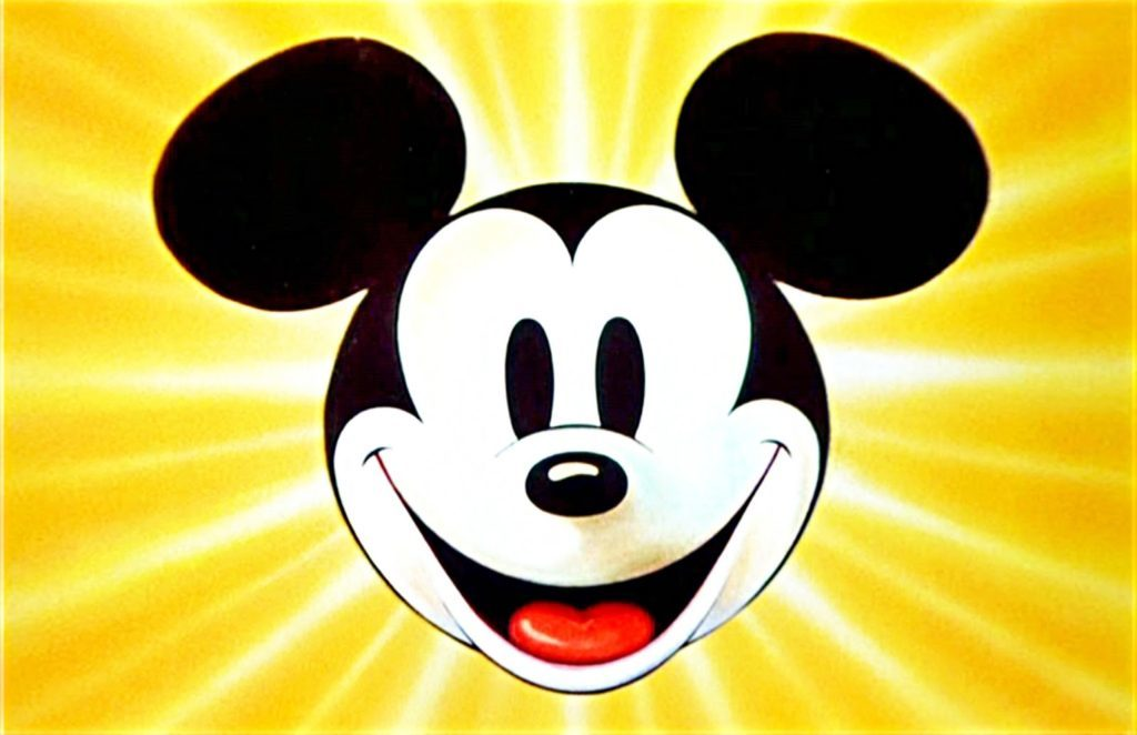 Famous Disney Cartoon Characters -Mickey mouse