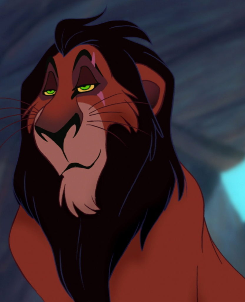 Scar-list of disney characters
