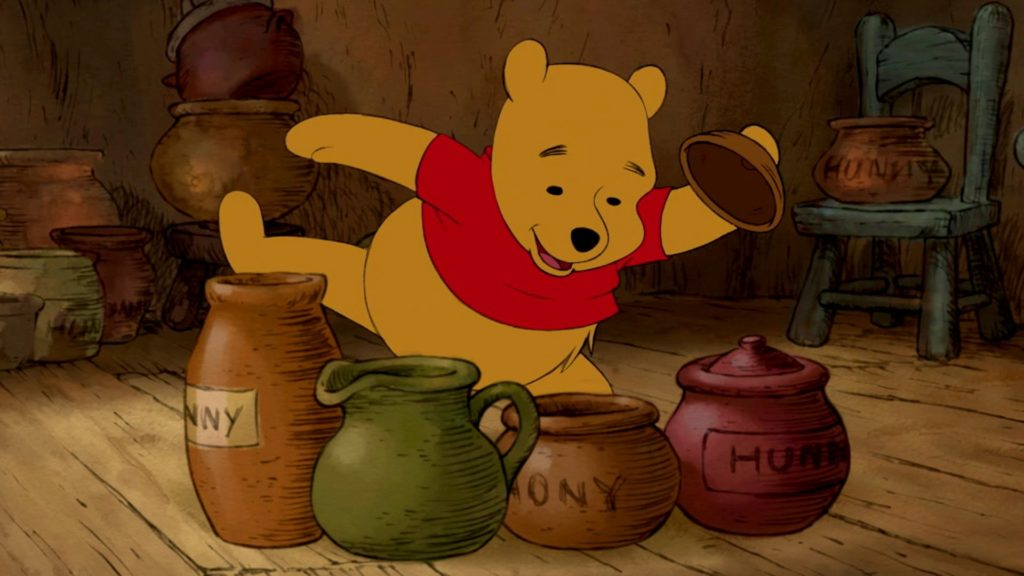 Winnie the Pooh -famous disney characters